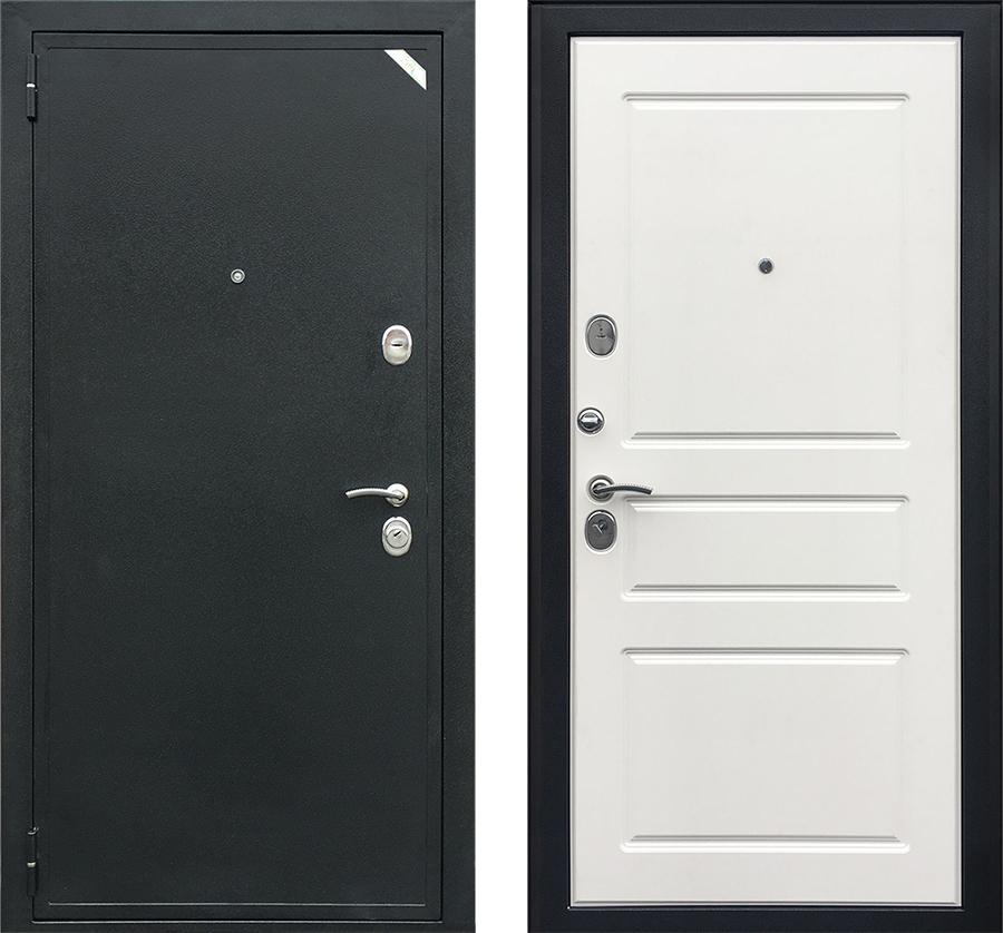 Входная дверь Зетта Евро 2 система белая