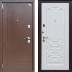 Входная дверь Zetta ЕВРО 2 Б2 (Эмаль белая матовая)