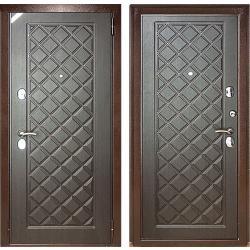 Входная дверь Зетта Евро 3 Б2 венге F054