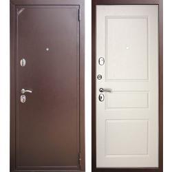 Входная дверь Zetta ЕВРО 2 Б2 Эмаль белая матовая