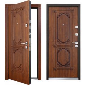 Cтальная дверь Mastino - модель Laсio Дуб медовый патинирование