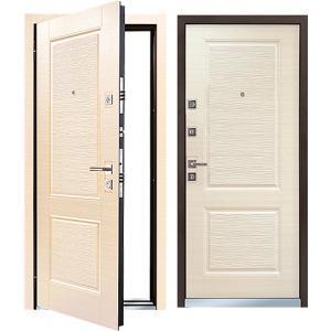 Cтальная дверь Mastino - модель Line 2 Светлый венге
