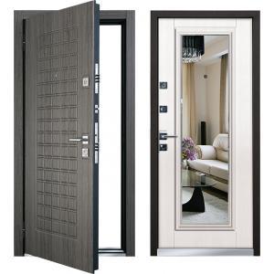 Cтальная дверь Mastino - модель Marke Каштан темный / Шамбори св