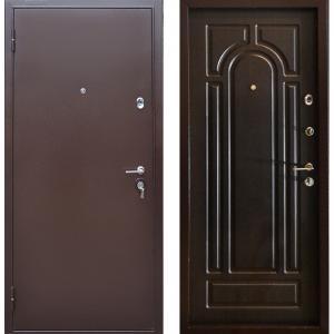 Стальная дверь Бульдорс 24 венге Б-6