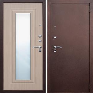 Стальная дверь Бульдорс-27 Беленый венге