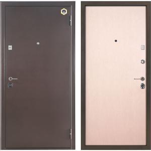 Входная металлическая дверь Бульдорс 23 Венге светлый