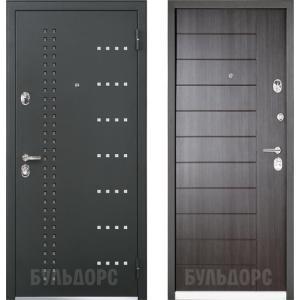 Входная металлическая дверь Бульдорс  ARNE 44R ларче темный