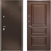Входная дверь Торекс Ультиматум Дуб Мореный 3D