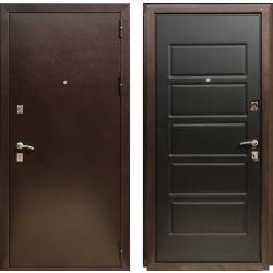 Входная дверь ЭКСТРА 2 Венге темный