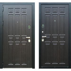 Входная уличная дверь ЗЕТТА Премьер 100 КБ 1  венге F088