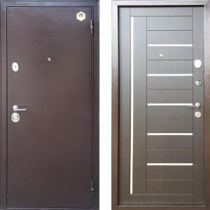 Стальная Дверь Бульдорс - 24М Венге темный