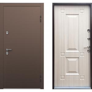 Входная дверь ТермоБУЛЬ Белый Перламутр