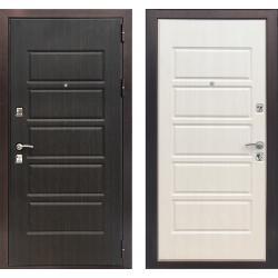 Входная дверь ЗЕТТА ЭКСТРА 3 Венге / Дуб белёный