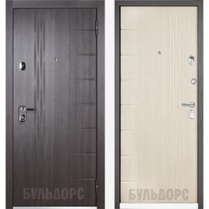 Входная металлическая дверь Бульдорс 45 Ларче темный / Шамбори с