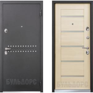 Входная металлическая дверь Бульдорс 44RP шамбори светлый MS-8