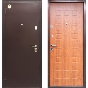 Входная дверь Бульдорс 13 дуб золотой А-3