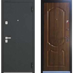 Входная металлическая дверь Бульдорс 44 дуб медовый N-1
