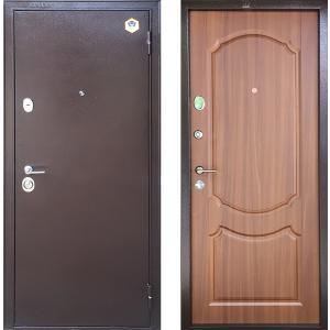 Стальная Дверь Бульдорс - 24 лесной орех Б-1