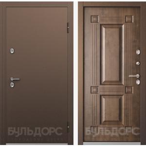 Входная дверь ТермоБУЛЬ -1 Грецкий Орех