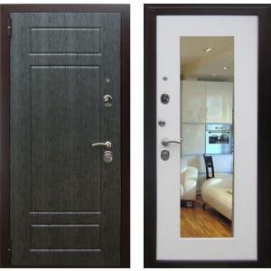 Стальная входная дверь Зетта Комфорт 3 Б1 с зеркалом