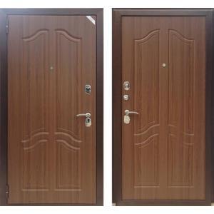 Входная дверь Зетта Комфорт 3 Б1 тисненый орех