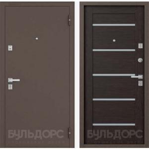 Стальная дверь Бульдорс-13 P new царговое венге