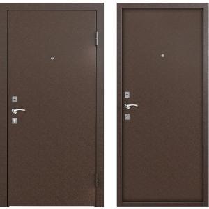 Входная дверь Бульдорс STARTER X, Steel-2 Медь / Медь