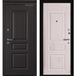 МетаЛюкс Триумф М601 Ясень черный / Ясень белый