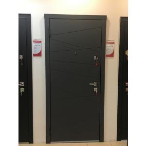 Cтальная дверь Мастино МОNTE Софт Графит