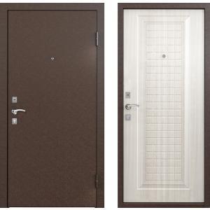 Входная дверь Бульдорс -10С скин СК-3 Лиственница белая