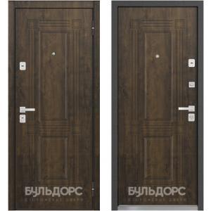 Входная дверь Бульдорс 45 Грецкий орех N-5 / Грецкий орех N-5