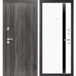 Входная дверь ЕВРО 3 СОФТ белый
