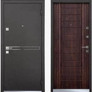 Входная дверь TERRA Securemme Дуб морёный  (быв. STRADA)