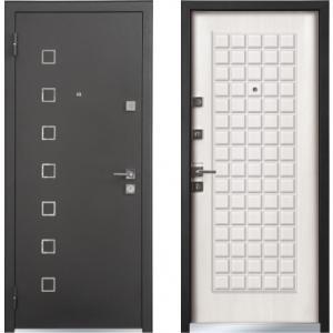 Входная дверь TERRA Securemme Черный шелк / Шамбори светлый (быв