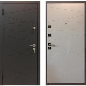 Входная дверь Мастино MONTE Securemme Софт белый