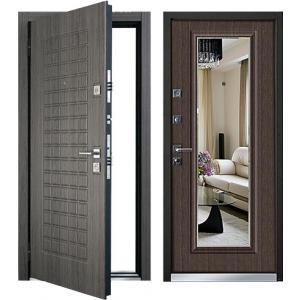 Cтальная дверь Mastino - модель Marke Каштан темный / Каштан Тем
