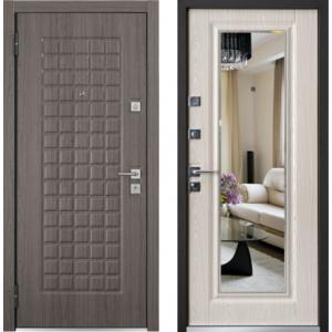 Входная дверь Мастино MARE Securemme Дуб графит / Шамбори светлы