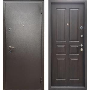 Стальная дверь Бульдорс Эконом-3 Ларче шоколад С-2