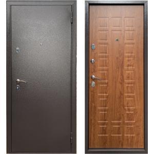 Стальная дверь Бульдорс Эконом-3 дуб золотой Е-110
