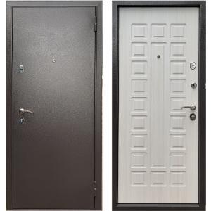 Стальная дверь Бульдорс Эконом-3 Ларче бьянко Е-110