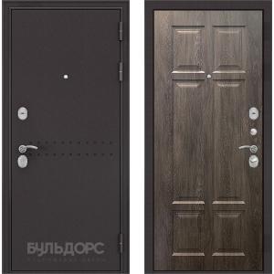 Стальная дверь Бульдорс MASS 90 дуб шале серебро 9S-109