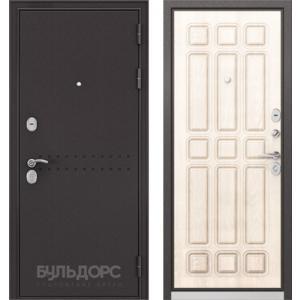 Стальная дверь Бульдорс MASS 90 ларче бьянко 9S-111