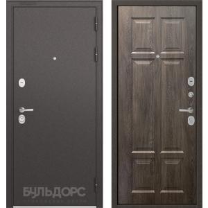 Стальная дверь Бульдорс STANDART 90 дуб шале серебро 9S-109