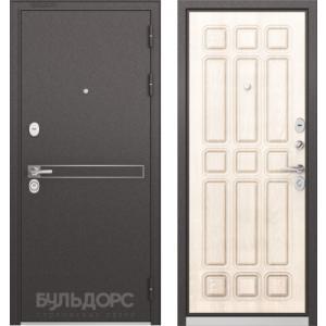 Стальная дверь Бульдорс STANDART 90 D-4 ларче бьянко 9S-111