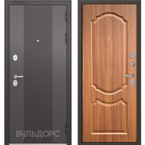 Стальная дверь Бульдорс STANDART 90 9K-4 орех лесной 9SD-4
