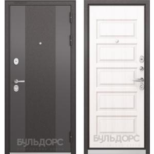 Стальная дверь Бульдорс STANDART 90 9К-4 дуб светлый матовый 9S-