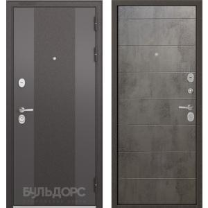 Стальная дверь Бульдорс STANDART 9К-4 90 бетон серый 9S-135