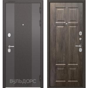 Стальная дверь Бульдорс STANDART 90 9К-4 дуб шале серебро 9S-109