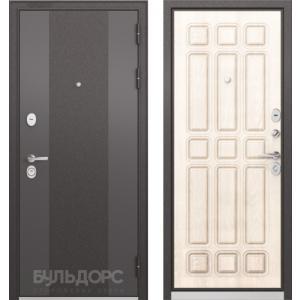 Стальная дверь Бульдорс STANDART 90 9К-4 ларче бьянко 9S-111