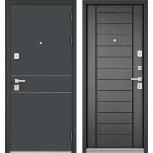 Бульдорс Premium 90 чёрный шёлк D-14 / серый дуб 9Р-137